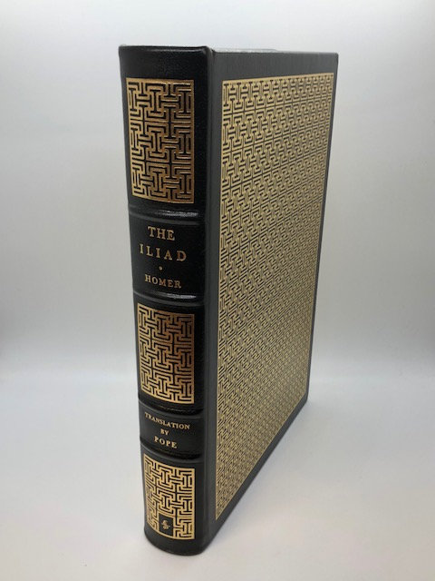 The Iliad of Homer. (Black Cover). Translated by A. Pope