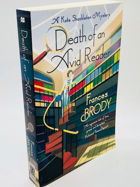 Death of an Avid Reader (A Kate Shackleton Mystery) by Frances Brody