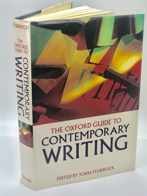The Oxford Guide to Contemporary Writing, edited by John Sturrock
