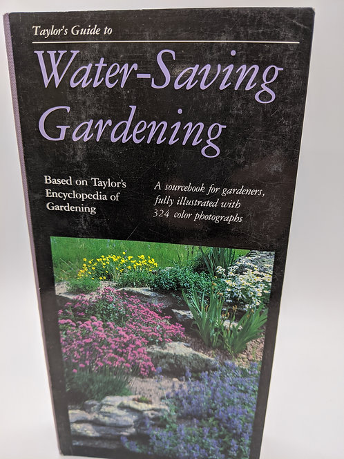 Taylor's Guide to Water Saving Gardens