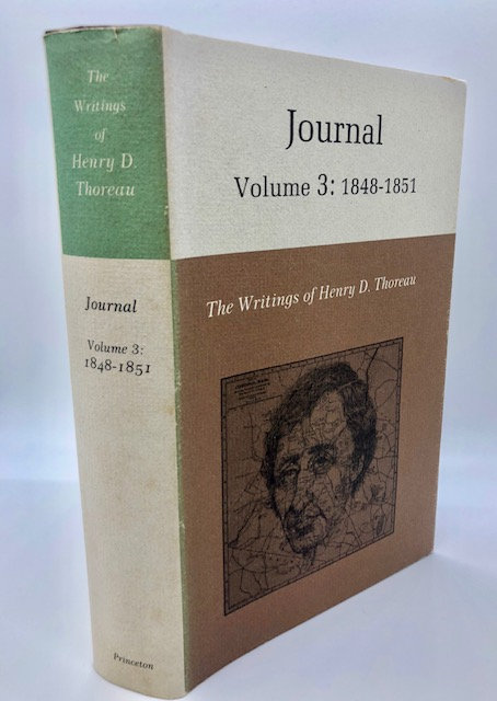 H.D. Thoreau JOURNAL Vol. 3, Princeton University Press
