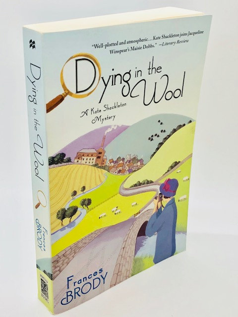 Dying in the Wind: A Kate Shackleton Mystery, by Frances Brody