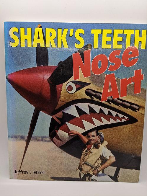 Shark's Teeth Nose Art