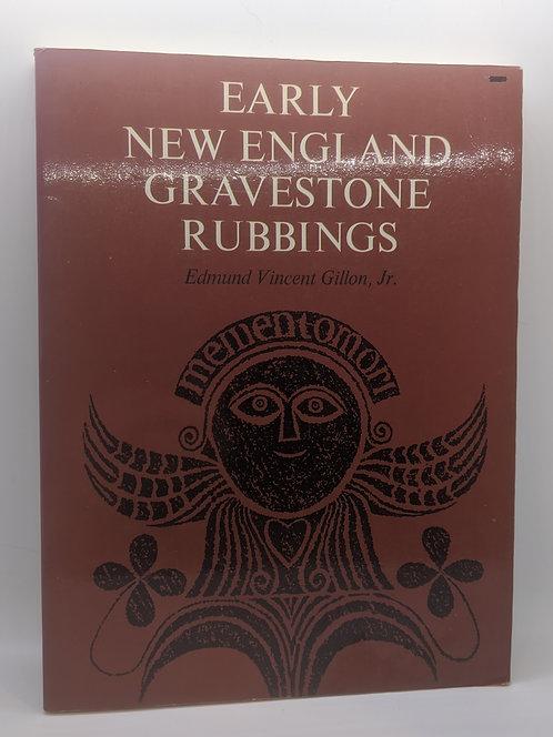Early New England Gravestone Rubbings