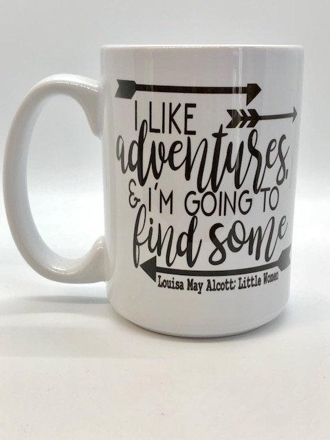 """Little Women """"Adventures"""" Mug"""
