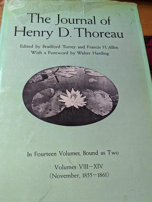 The Journal of Henry David Thoreau