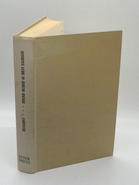 Reference Guide to Edmund Spenser