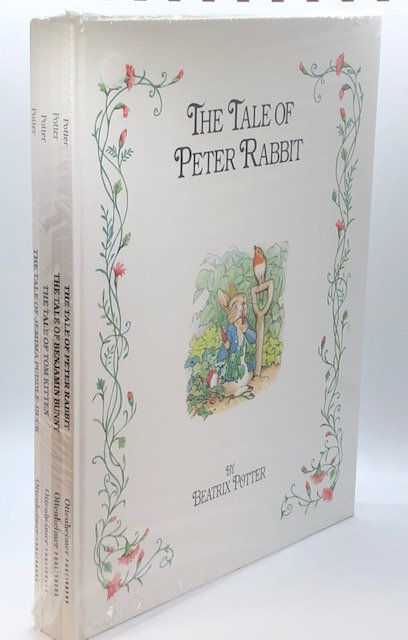 4 Volumes of Beatrix Potter Tales (New in Shrink Wrap)