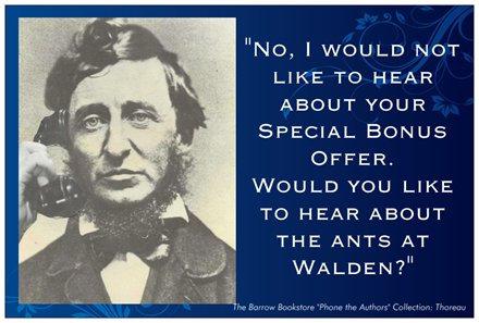 "Thoreau ""Ants"" Postcard"