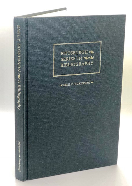 Emily Dickinson: (Pittsburgh Series In Bibliography), by Joel Myerson