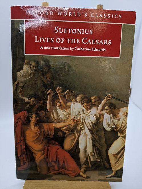 Suetonius Lives of the Caesars