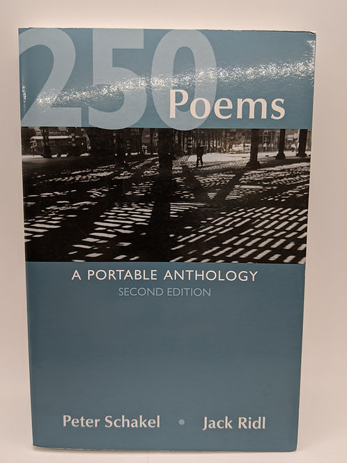 250 Poems: A Portable Anthology (2nd Edition)
