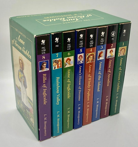 The Complete Anne of Green Gables (8 Volume Box Set)
