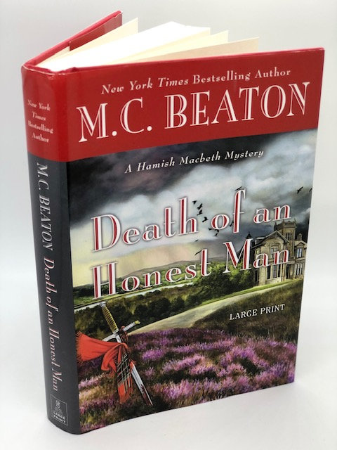 Death of an Honest Man (Large Print Edition) by M.C. Beaton