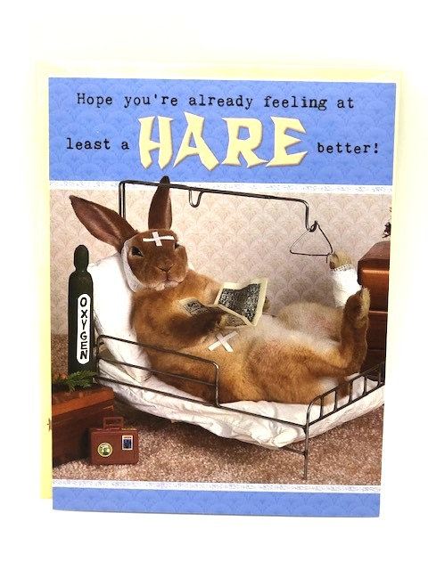 Notecard: Feel A Hare Better