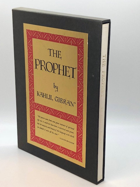 The Prophet, by Kahill Gibran