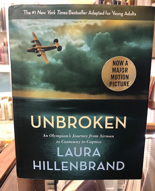 Unbroken (The Young Adult Adaptation): An Olympian's Journey from Airman to Cast