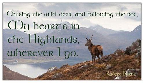 "Magnet: ""My Heart's In The Highlands"", Robert Burns"