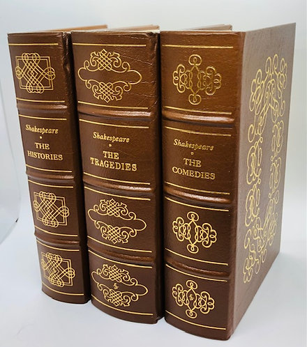 3 Vol. Set: Shakespeare's The Histories, The Tragedies, and The Comedies