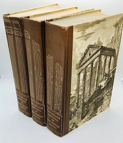 (3 Vol.) The Decline and Fall of the Roman Empire, by Edward Gibbon