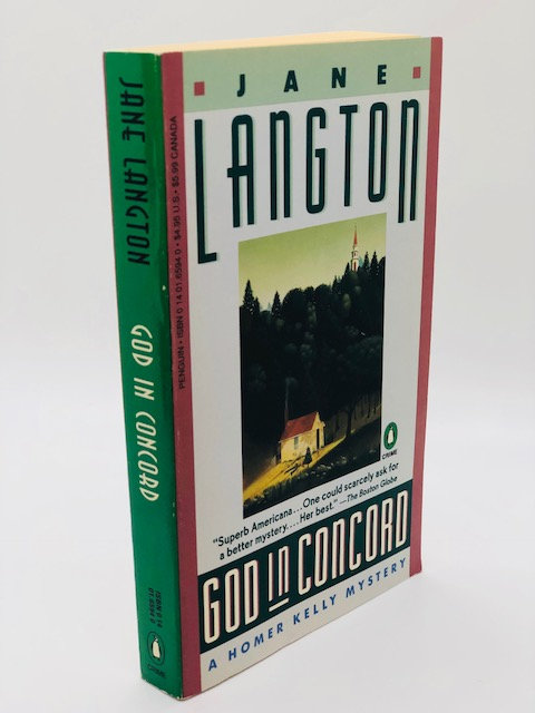 God in Concord (The Homer Kelly Mysteries Book 9) by Jane Langton