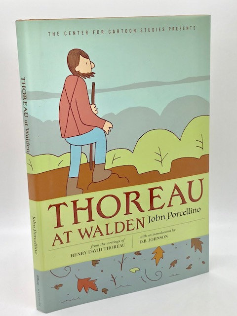 Thoreau At Walden, by John Porcellino (Graphic Novel)