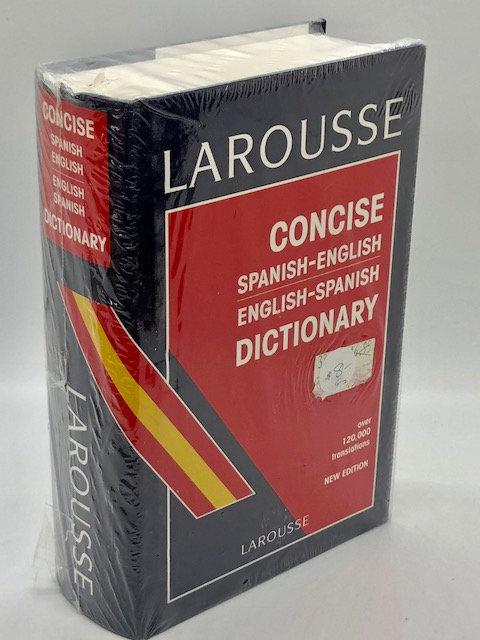 Larousse: Concise Spanish-English / English Spanish Dictionary