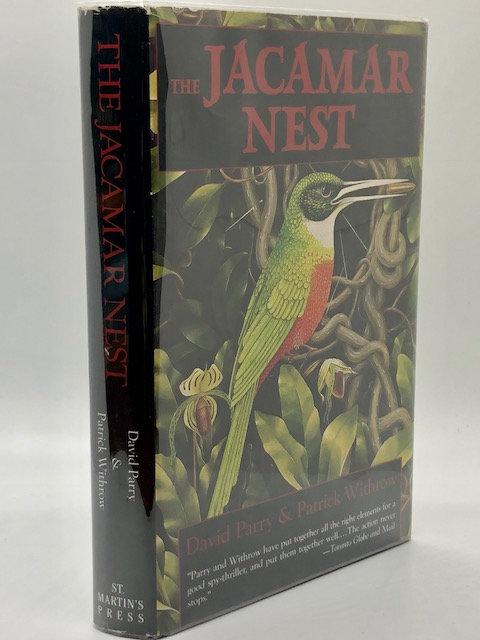 The Jacamar Nest, by David Parry & Patrick Withrow