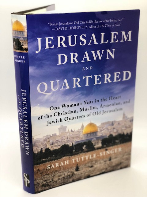 Jerusalem Drawn and Quartered, by Sarah Tuttle-Singer