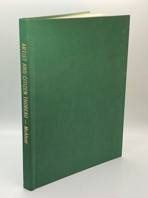 Artist and Citizen Thoreau, by John J. McAleer