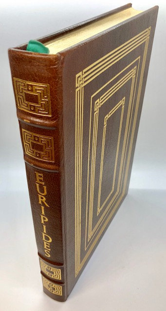 Euripides: Medea, Hippolytus, The Bacchae.  (Brown Cover)