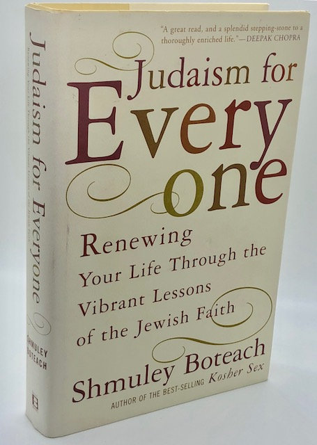Judaism For Everyone, by Shmuley Boteach