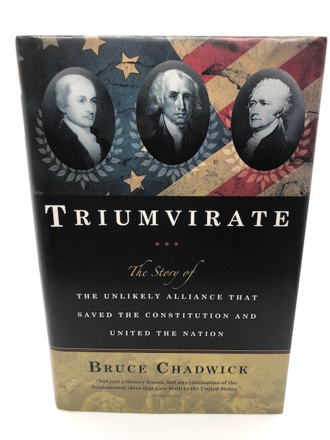 Triumvirate, by Bruch Chadwick