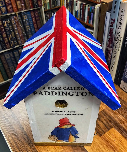 A Bear Called Paddington Birdhouse