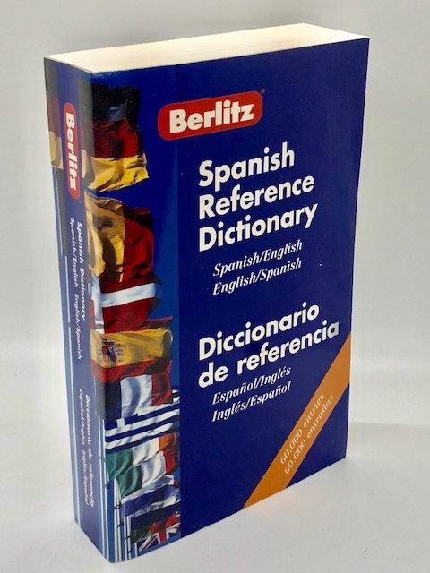 Berlitz: Spanish Reference Dictionary