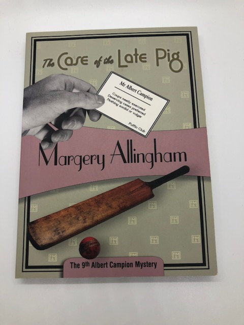 The Case of the Late Pig (Albert Campion Mystery Book 9), by Margery Allingham