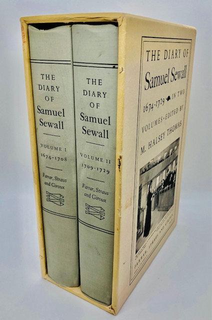 The Diary of Samuel Sewall (Vol 1 & 2, 1674-1729)
