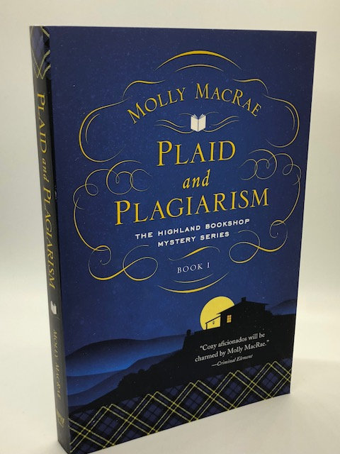 Plaid and Plagiarism: The Highland Bookshop Mystery Series, Book 1