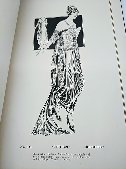 Harry Angelo Co. Illustrations of the Model Gowns, Spring 1915 and 1917