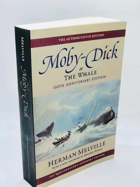 Moby-Dick, or The Whale, by Herman Melville