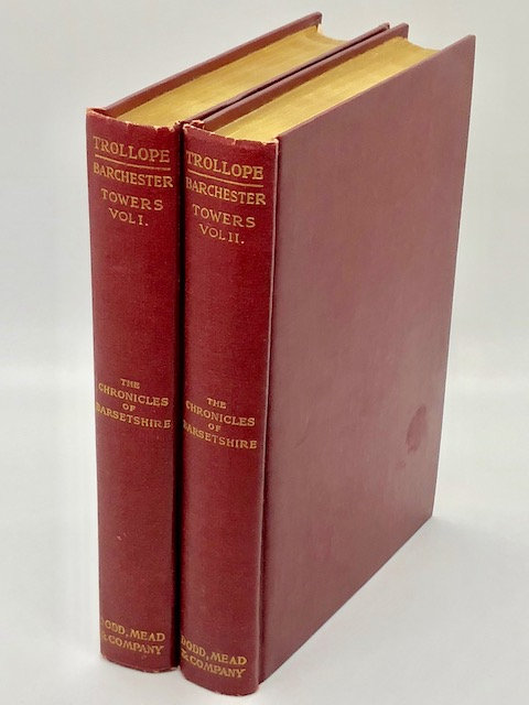 Barchester Towers (2 Volumes), by Anthony Trollope