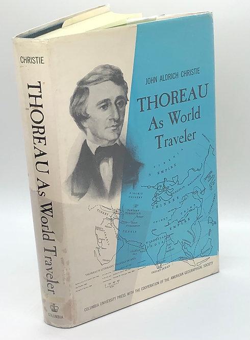 Thoreau As World Traveler, by John Aldrich Christie