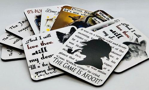 Coaster: Book Themed
