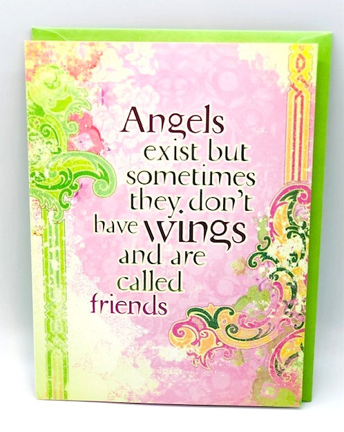 Notecard: Angels / Friends