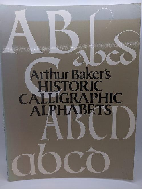 Arthur Baker's Historic Calligraphic Alphabets