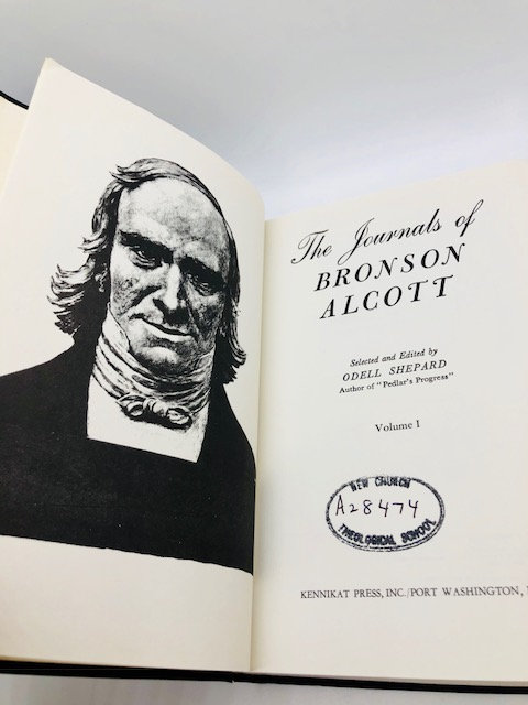 The Journals of Amos Bronson Alcott (Volume 1) with Portraits