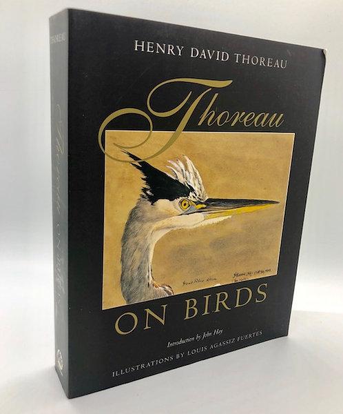 Henry David Thoreau: ON BIRDS