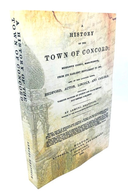A History of the Town of Concord, by Lemuel Shattuck