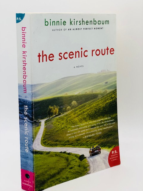 The Scenic Route: A Novel, by Binnie Kirschenbaum