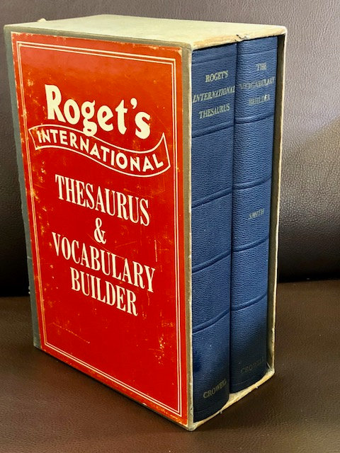 Roget's International Thesaurus and Vocabulary Builder (Third Edition)